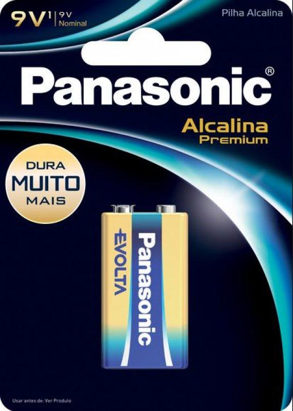 BATERIA PANASONIC 9V AZ PREMIUM ALCALINA