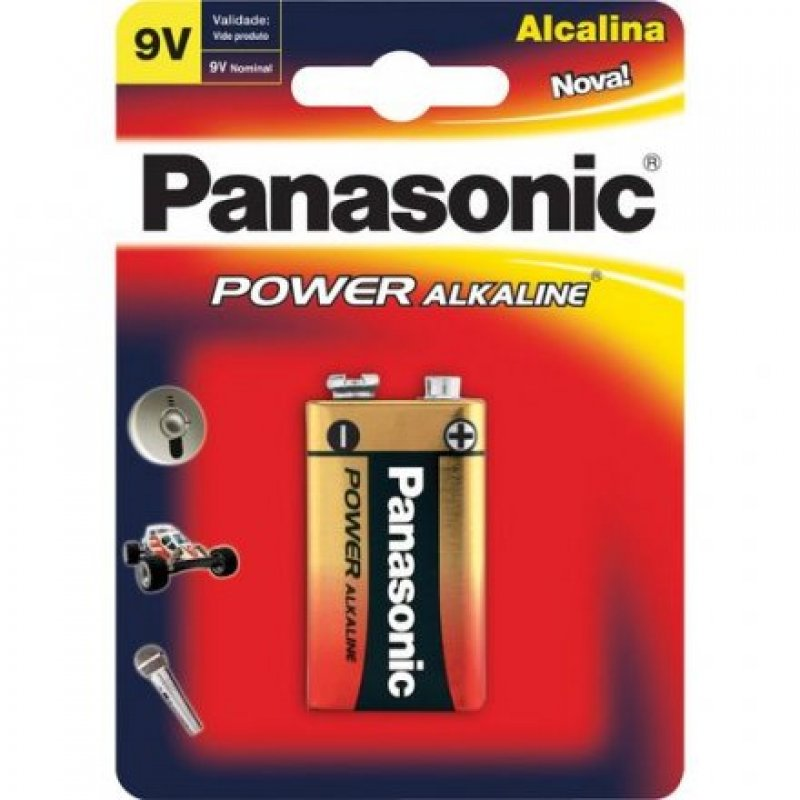 BATERIA PANASONIC 9V POWER ALKALINE