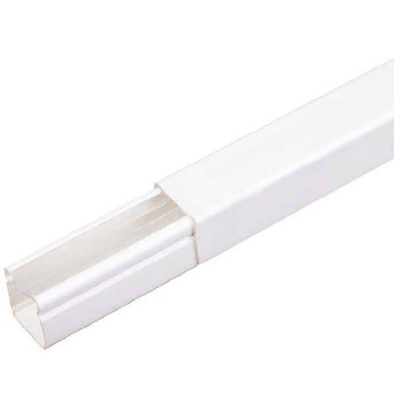CANALETA FECHADA SCHNEIDER PVC 20MMX20MMX2000MM S/ FITA S/ REPARTICAO