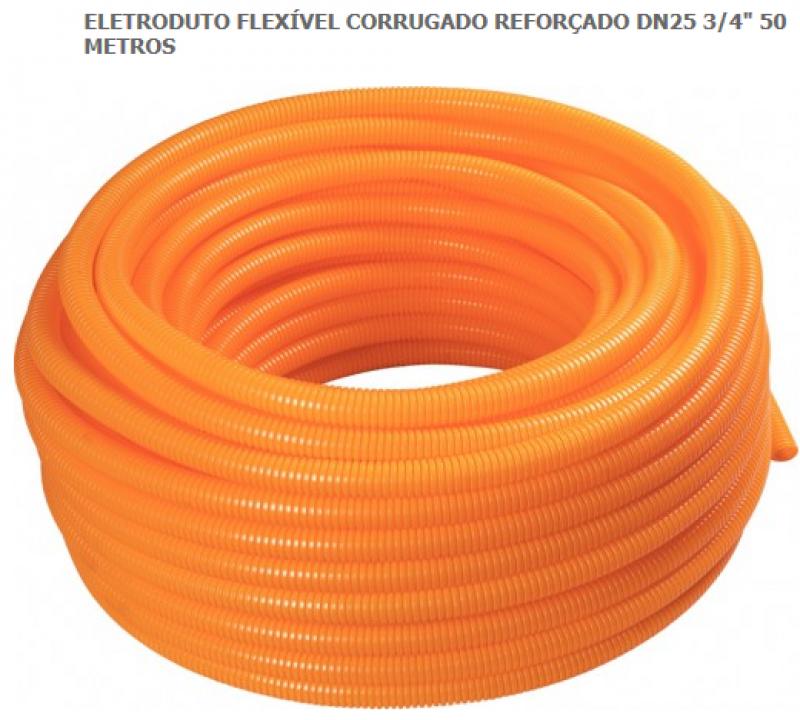 ELETRODUTO CORRUGADO REFORCADO