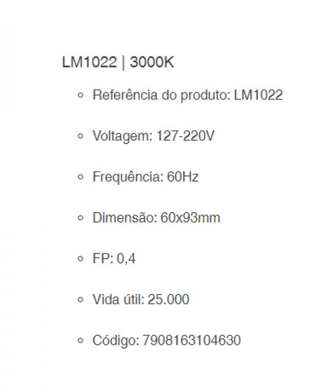 EMBUTIDO SOLO LUMINATTI IP67 1X 1W LED BR
