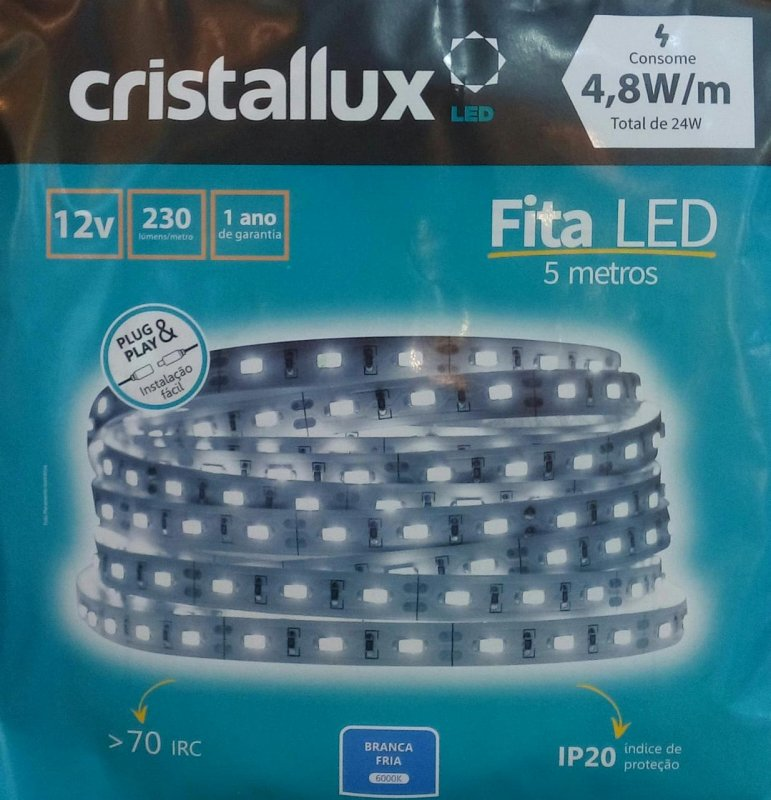 FITA CRISTALLUX 12V IP20 4.8W LED