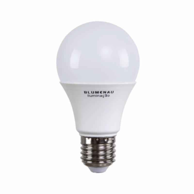 LAMPADA BLUMENAU E27 12W BULBO LED PVC