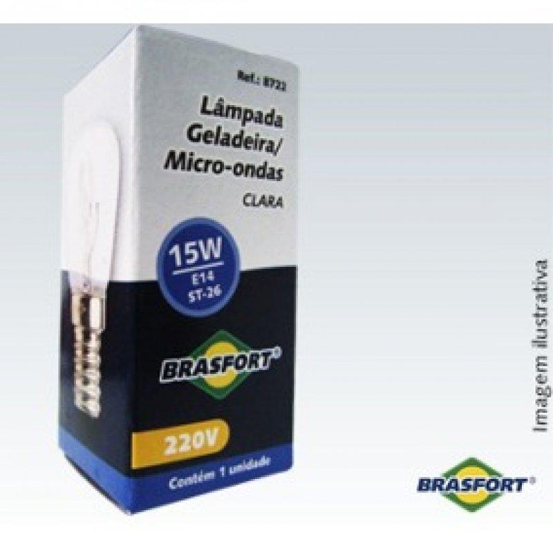 LAMPADA BRASFORT 220V E14 15W