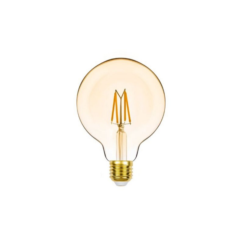 LAMPADA CRISTALLUX  E27 4W GLOBO LED FILAMENTO CHAMPAGNE