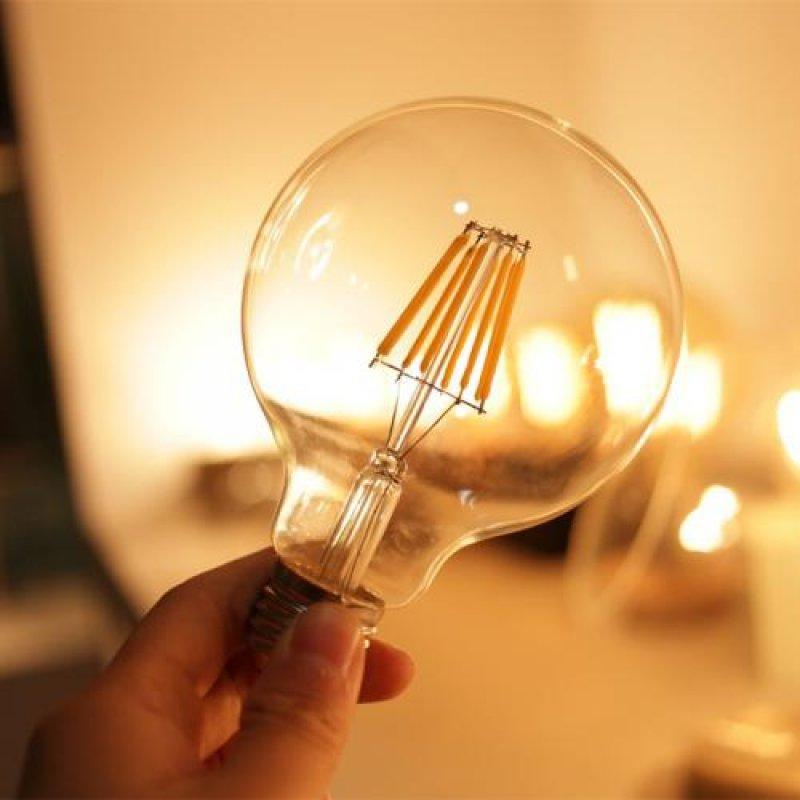 LAMPADA CRISTALLUX 4W LED FILAMENTO VINTAGE G95