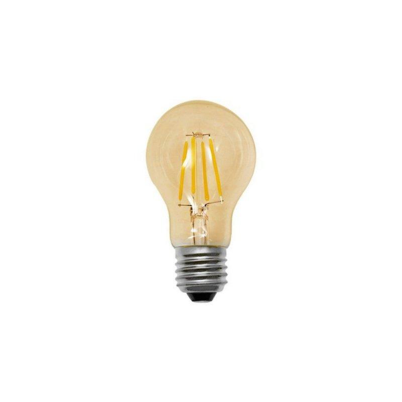 LAMPADA CRISTALLUX E27 4W BULBO LED FILAMENTO CHAMPAGNE VINTAGE