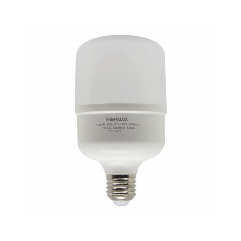 LAMPADA EMPALUX E27 40W BULBO ALTA POTENCIA LED