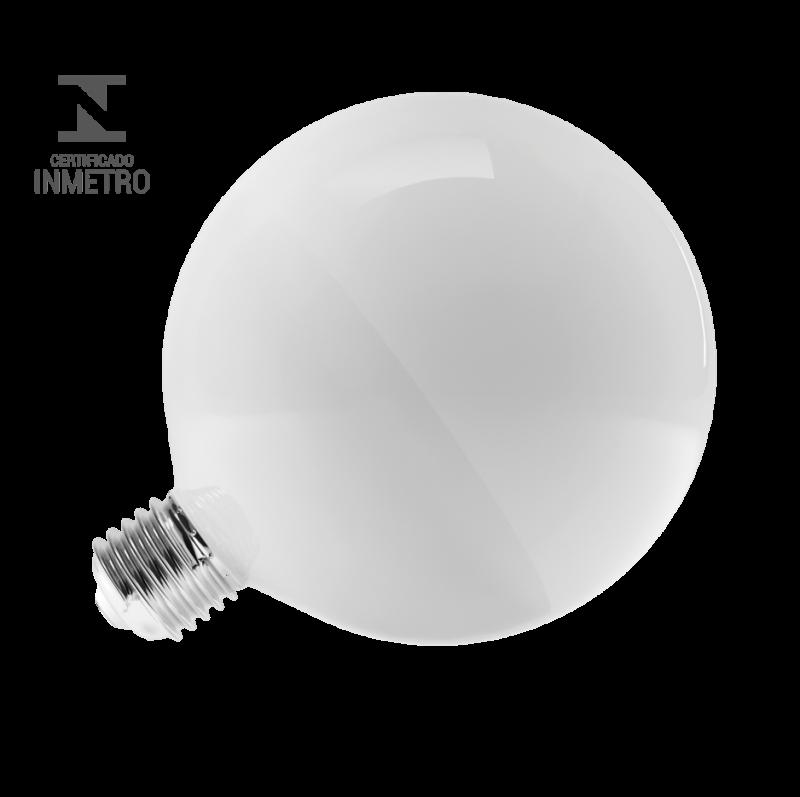 LAMPADA LUMINATTI 14W GLOBO G125 BALLOON