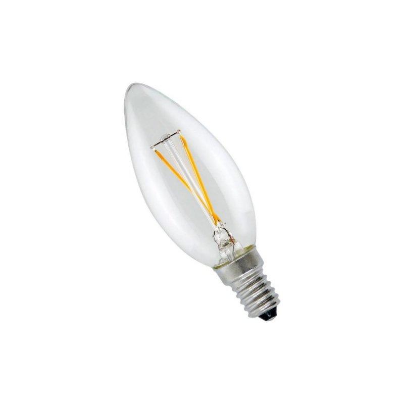 LAMPADA LUMINATTI E14 2W VELA FILAMENTO LED