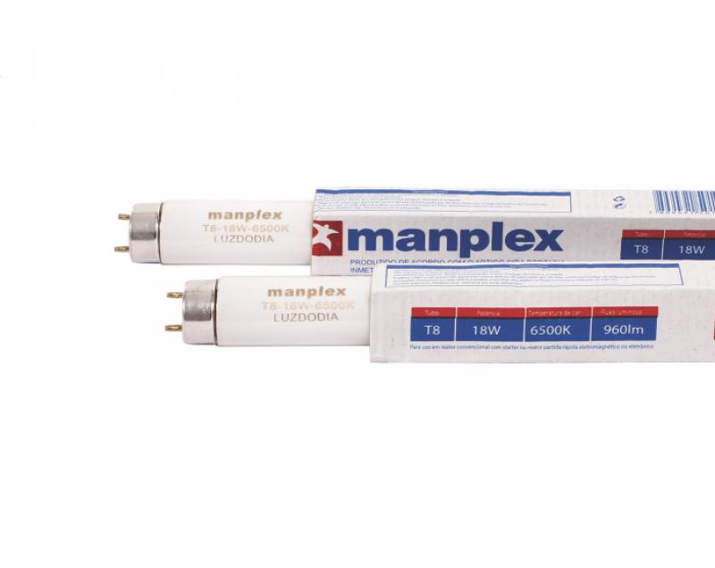 LAMPADA MANPLEX FLUORESCENTE T8