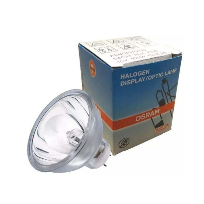 LAMPADA OSRAM G6.35 150W MR16 INCANDESCENTE