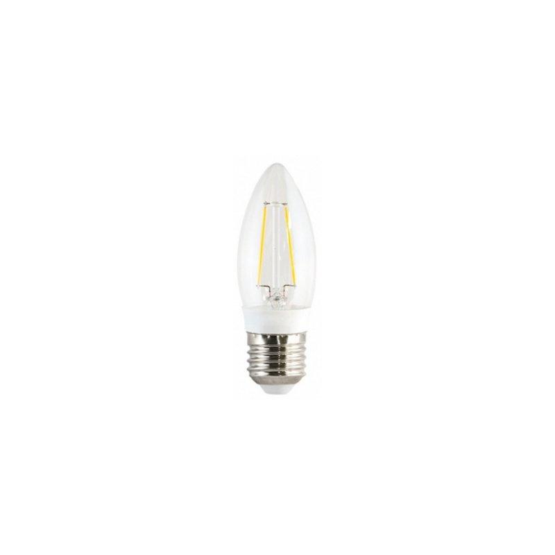 LAMPADA OUROLUX E27 3W VELA FILAMENTO 3000K