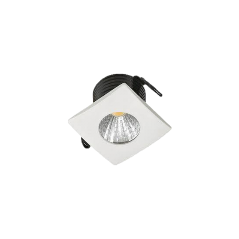 MINI EMBUTIDO CRISTALLUX 2W LEDteste