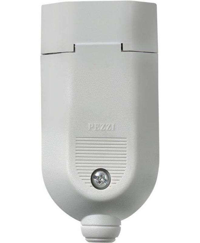 PLUG FEMEA PEZZI IP20 CZ 2P+T 10 AMPER PVC 180° GRAUS 1086-3
