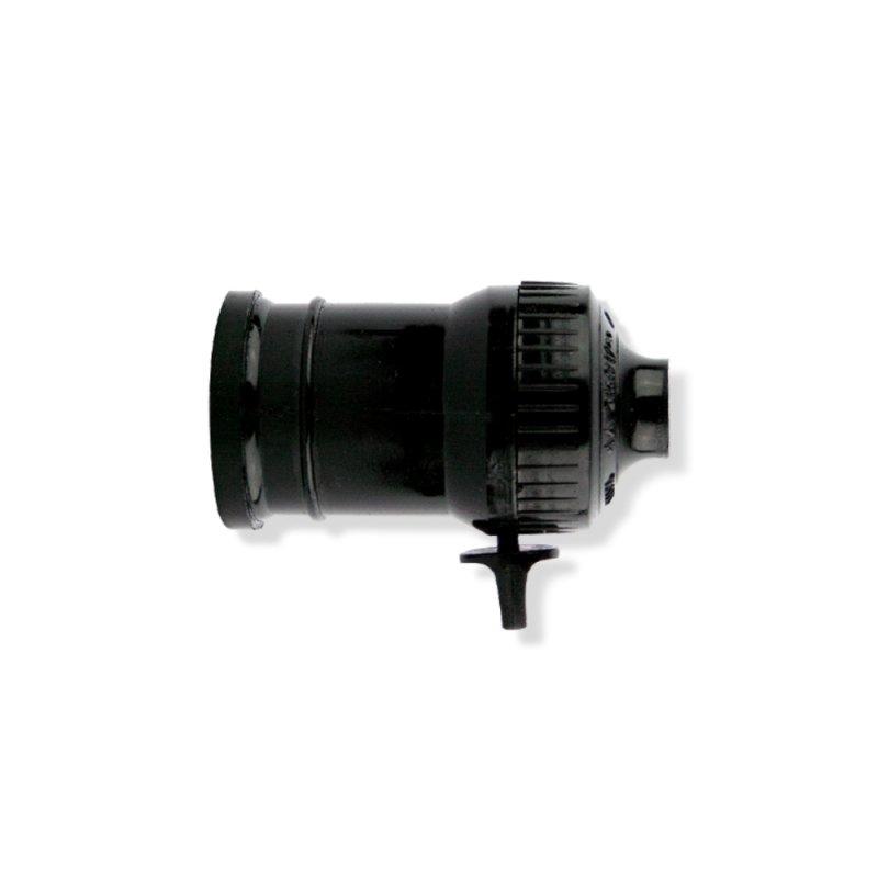 SOQUETE E27 PENDENTE PVC C/ CHAVE LIGA/DESL