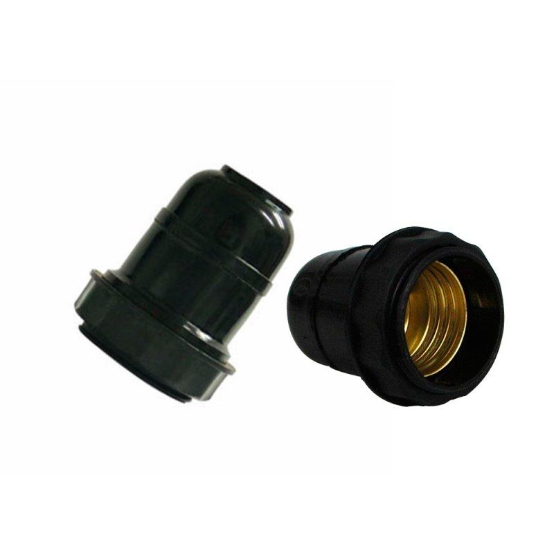 SOQUETE E27 PVC C/ ROSCA