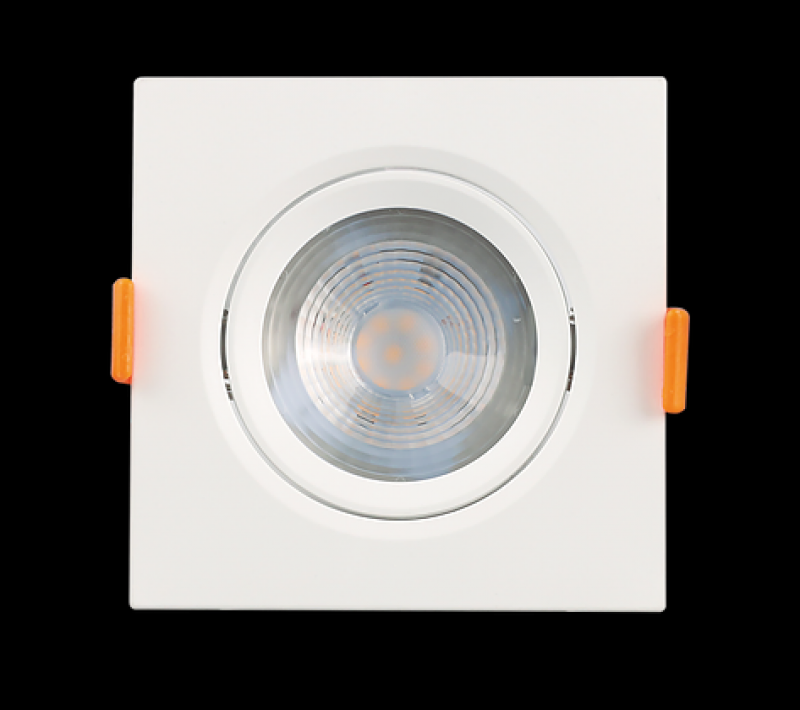 SPOT LUMINATTI  7W QUADRADO LED PVC