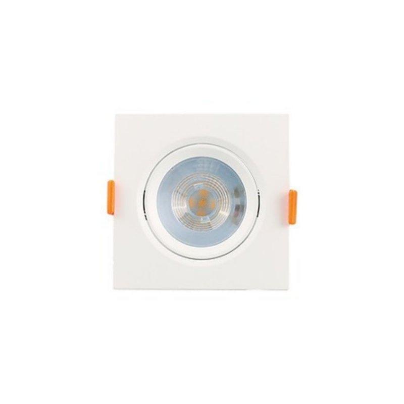 SPOT LUMINATTI 5W QUADRADO LED BR PVC