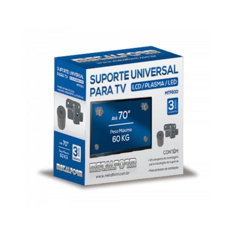 SUPORTE TV METALFORM UNIVERSAL