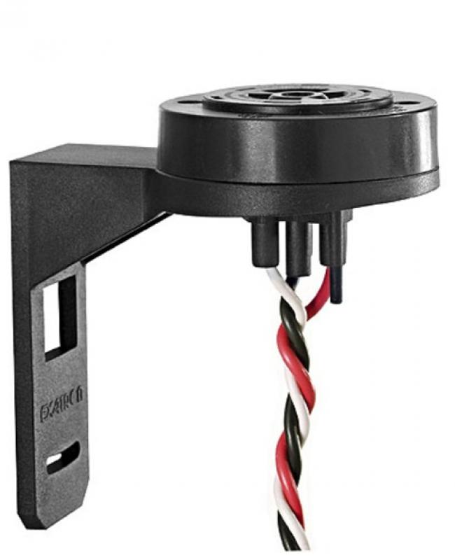 TGBR0LP BASE EXATRON 110V-220V IP54 PT 3 PINOS 10 AMPER PVC P/ RELE FOELETRICO
