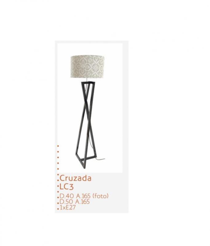 VIDA SIMPLES COLUNA CRUZADA IMBUIA CRU (D) 40 (A) 165 - REF.: LC3