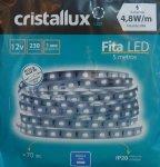 FITA CRISTALLUX 12V IP20 4.8W LED