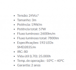 FITA STELLATECH 24V IP20 19W LED 3000K EVO LED STH8835/27