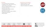 LAMPADA AVANT 110V-220V E27 BULBO LED BR 6400K