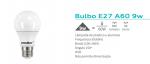 LAMPADA CRISTALLUX E27 9W BULBO LED