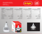 LAMPADA G-LIGHT E40 120W LED TLN 230
